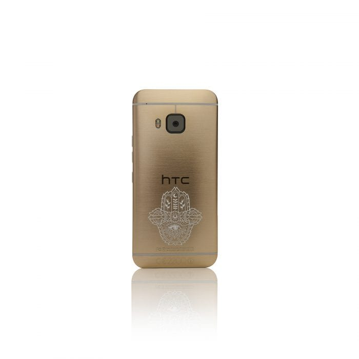HTC Gold M9 back