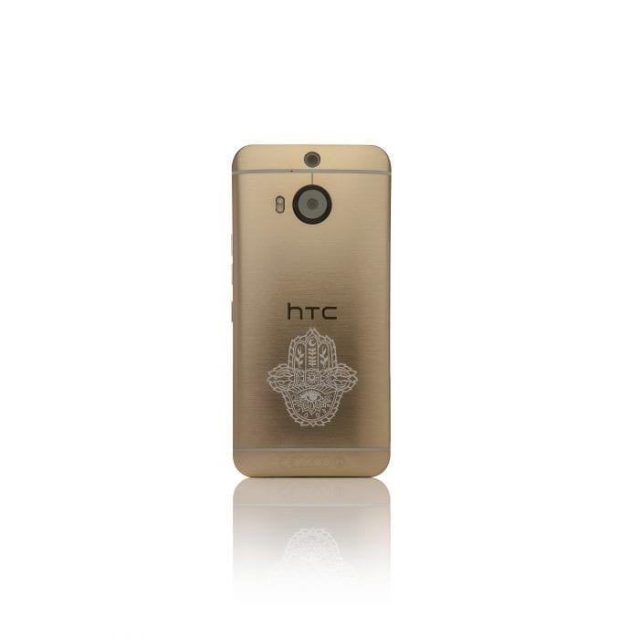 HTC Gold M9+ back
