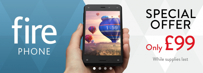 Amazon drop Fire Phone to £99