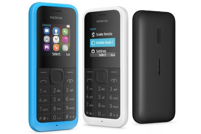 Microsoft takes us all back to 2002 with a proper phone   the Nokia 105