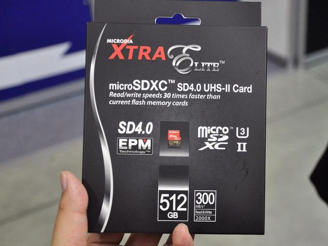How about a 512GB micro SD card?