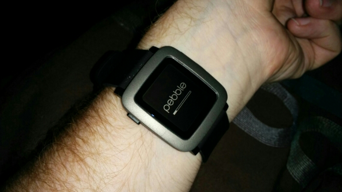 Pebble Time   Hands on