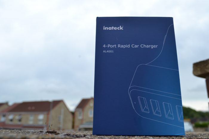 Inateck 4 port Rapid Car Charger   Review