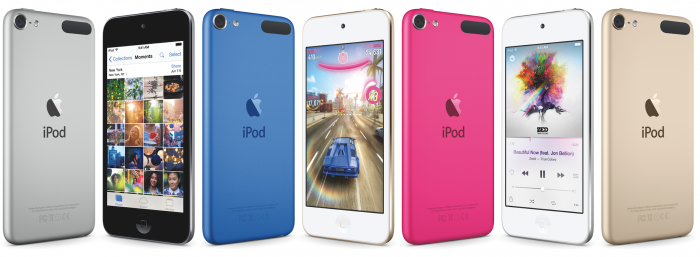 Apple refreshes iPod Touch