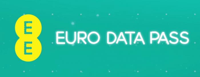 EE launch Euro Data Pass