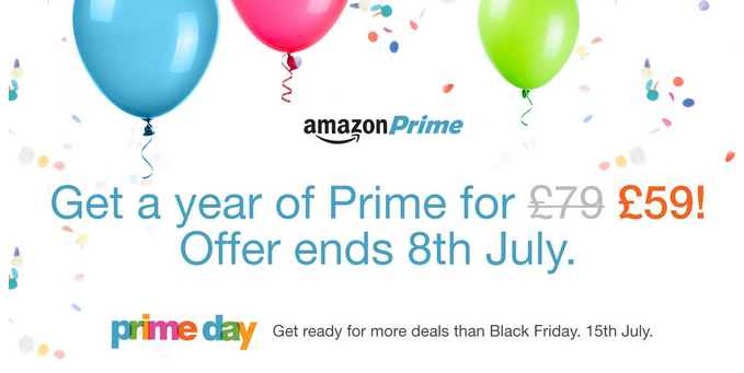 Amazon: 20 years on 15 July   Prime deals