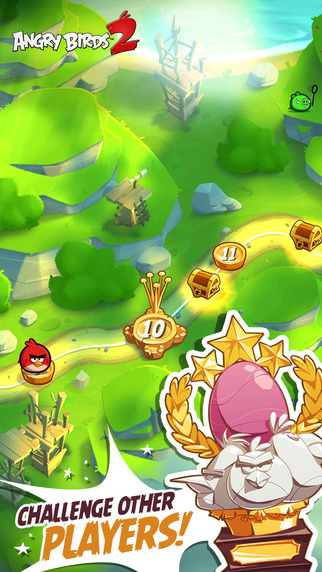 The Angry Birds have returned for a second (?!) adventure