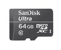 SanDisk Ultra 64GB microSD memory card, cheap price