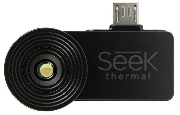 What is a hot spot not? Not a good spot. See them cheaply with the Seek Thermal smartphone attachment