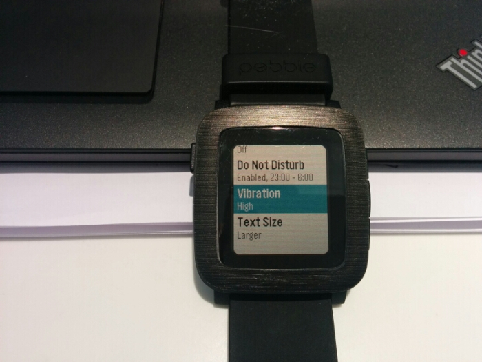 Pebble Time gets new update
