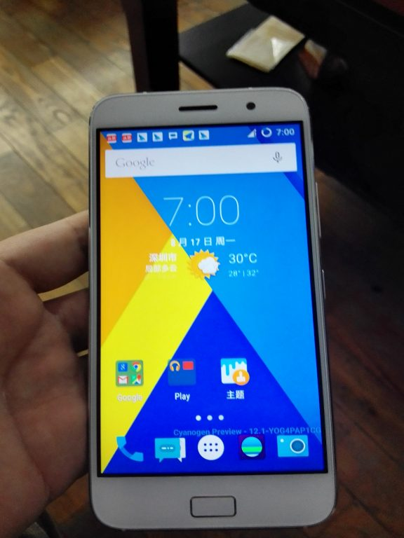 Lenovo ZUK Z1 Announced   Hands on