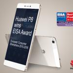 Huawei P8 wins European Smartphone Award