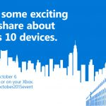 Windows 10 devices launch event confirmed for 6 October