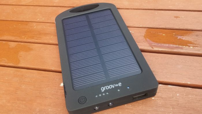 Groov e Portable Solar Charger   Review