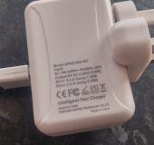 aLLreLi Dual Port USB Travel Charger   Review