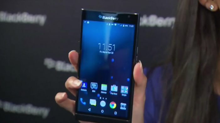 Blackberry Priv by John Chen.
