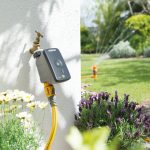 Water your lawn and flowers remotely. New Hozelock Cloud Controller