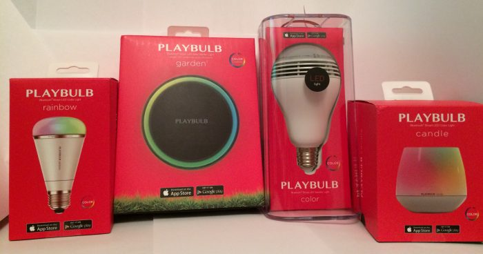 Control your lights with Playbulb Bluetooth controlled lighting