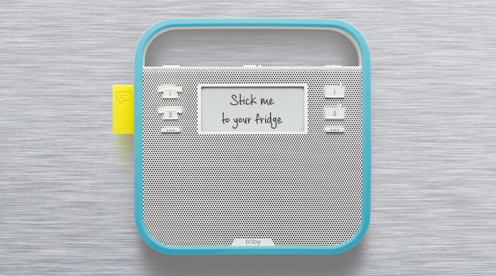 IFA   The Triby kitchen messaging system goes on sale