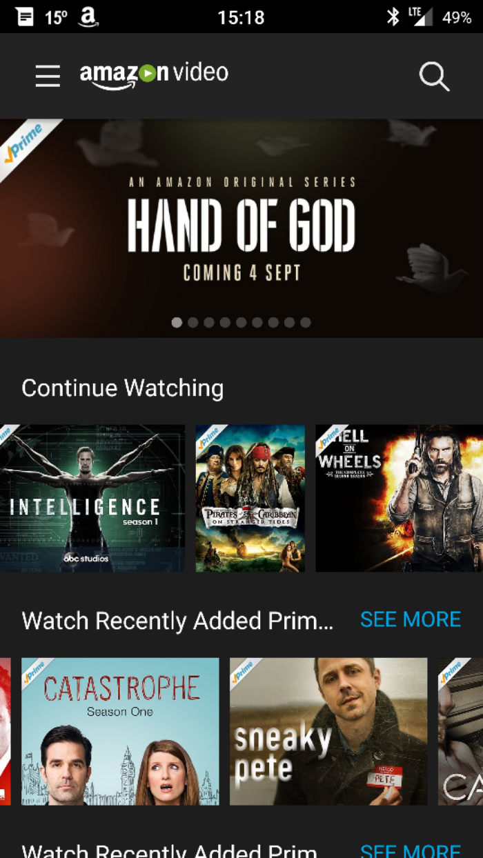 can i watch amazon instant video on my android phone the boy