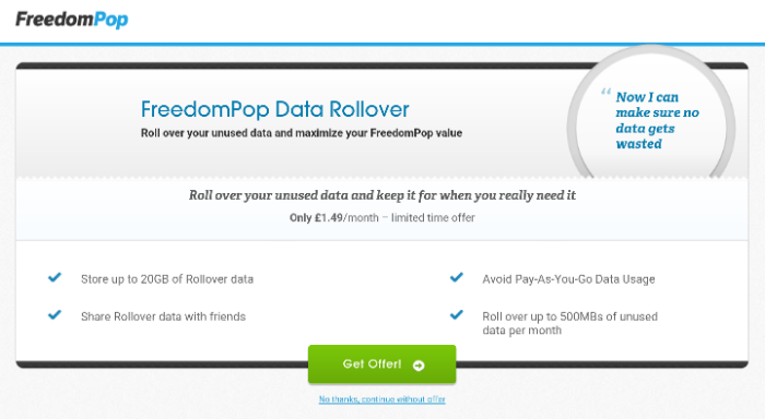 FreedomPop is now LIVE in the UK. Free calls, texts and data available right now.