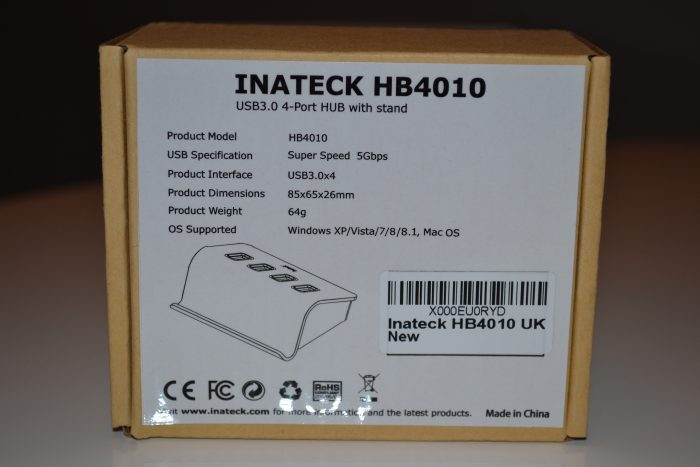 Inateck 4 Port USB 3.0 Hub   Review