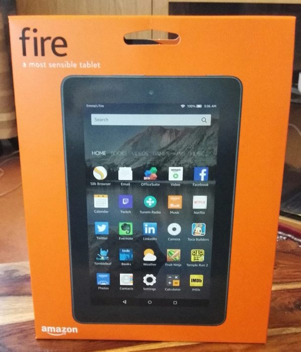 Amazon Fire 7 (2015)   Unboxing