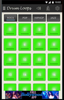 Musical drum loops - App review! - Coolsmartphone