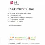 LG G4 – Get the gold version for a lot, lot less