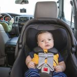 Never mind a reversing camera, watch your baby while you drive instead