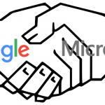 Is Google about to announce a new partnership with Microsoft?