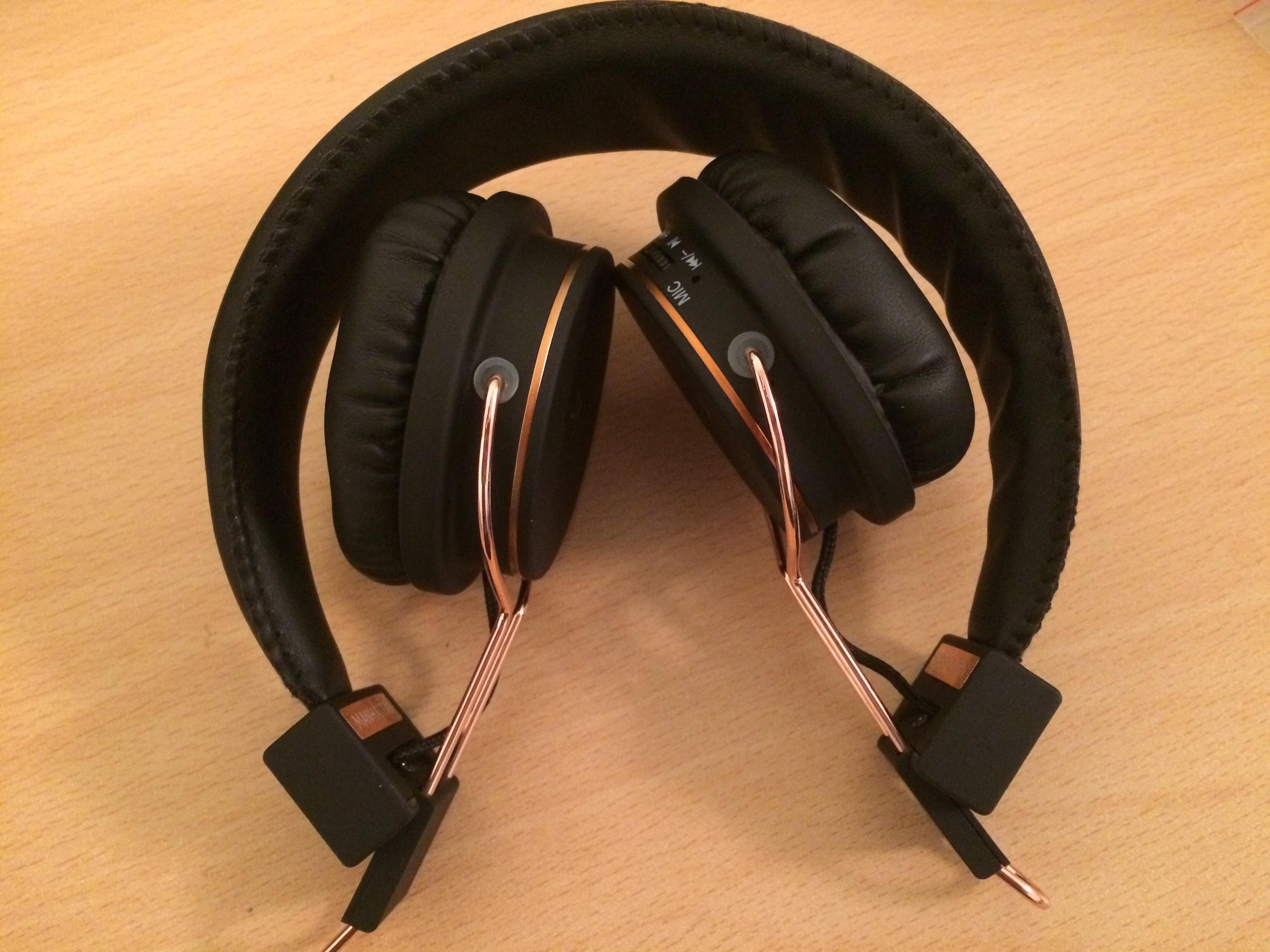 dd3c7839feb KitSound Manhattan Headphones in Rose Gold - A Review - Coolsmartphone
