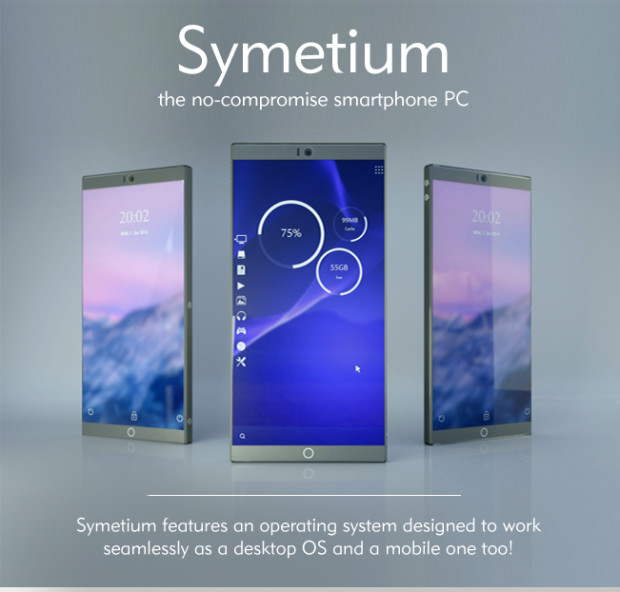 Symetium super phone going into crowdsourcing