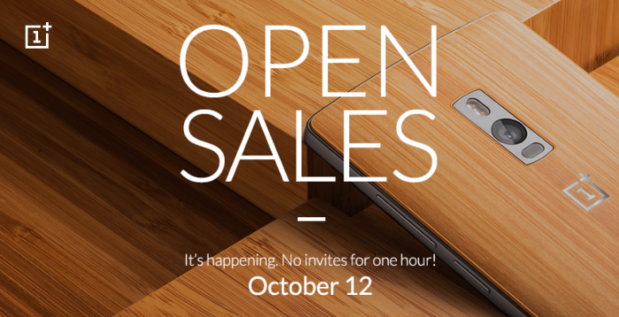 OnePlus 2 going up for 1 hour Open Sale