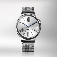 Huawei Watch-HQ photos-Front-Silver with steel strap 2-JPG-20150724