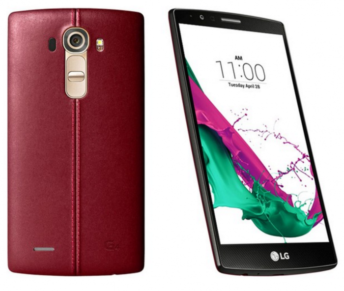 LG G4 red