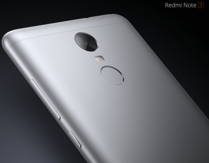 Xiaomi announce the Redmi Note 3