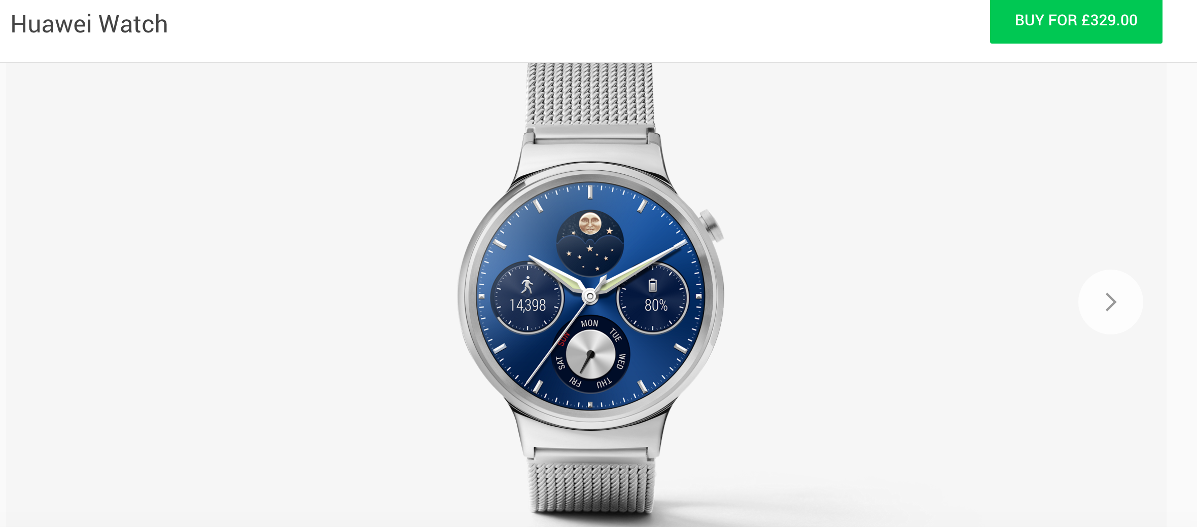 Huawei Watch now available on UK Google Store - Coolsmartphone