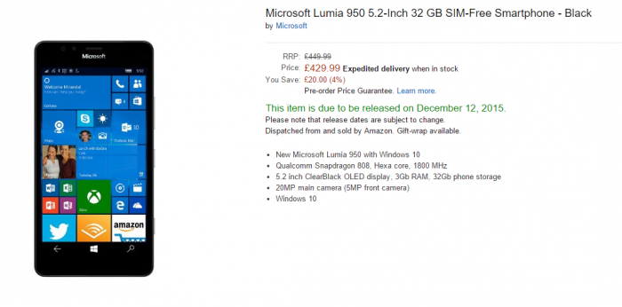 New Microsoft Lumia phones reduced again