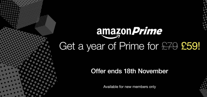 Amazon Prime reduced for 24 hours