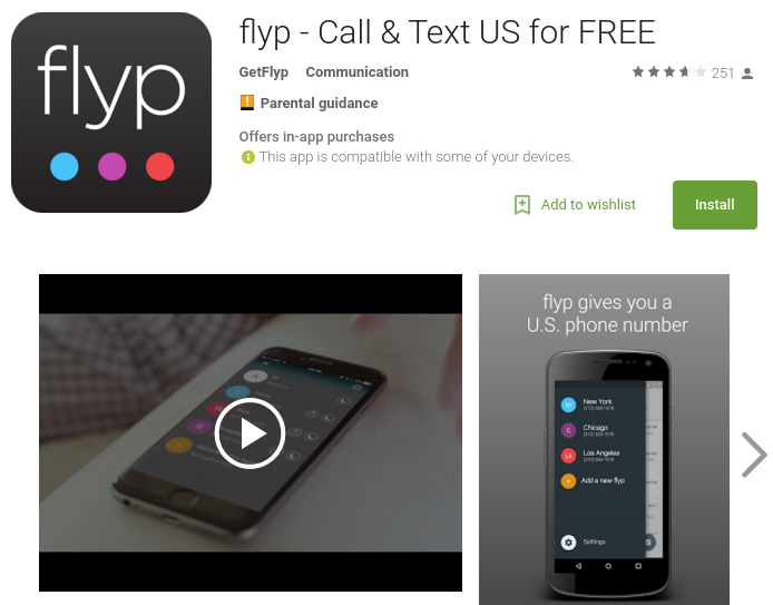 Additional US numbers and a local presence from flyp