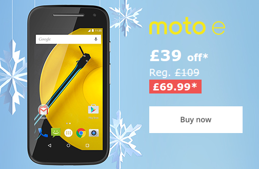 Black Friday   Moto handsets dropped in price