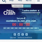 O2 Pricecrash has … well, crashed