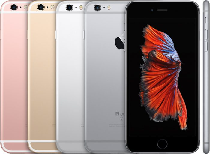 How has the release of the iPhone 6S affected shares?