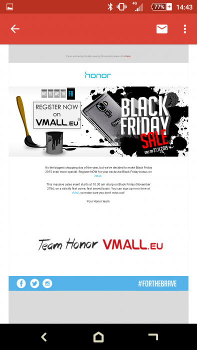 Black Friday   Honor vMall deals