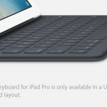 Apple iPad Pro Smart Keyboard – You can only buy the US layout