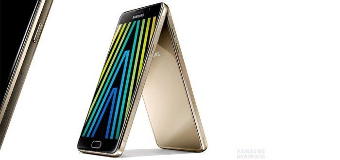 Samsung announce the 2016 Galaxy A range.