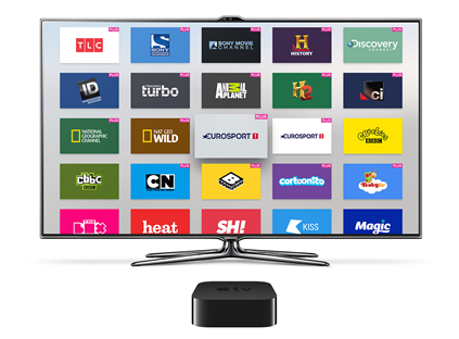 TVPlayer launches on Apple TV