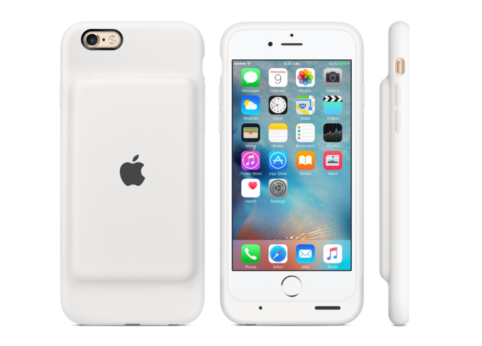 Apple releases iPhone battery case