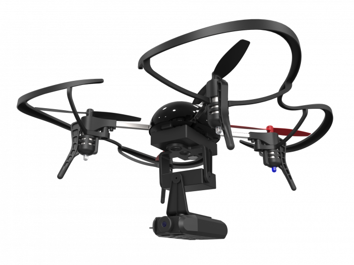 CES 2016 Extreme Fliers Debuts the New Magnetic Connected Long Range Wi Fi Camera of Micro Drone 3.0